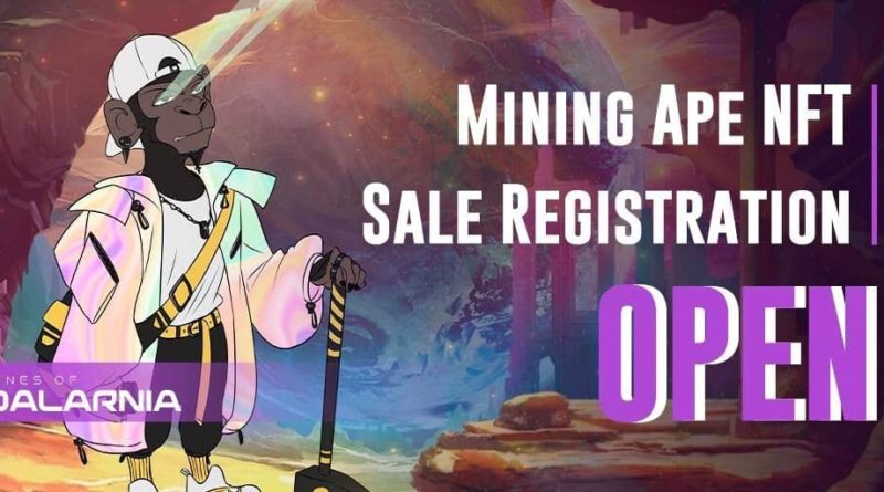 Mines of Dalarnia launches Mining Apes NFT collection sale